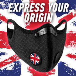 Emojr®Mask with Flags Design