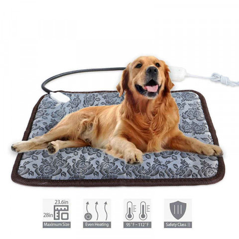 Pet Electric Heating Pad Bed